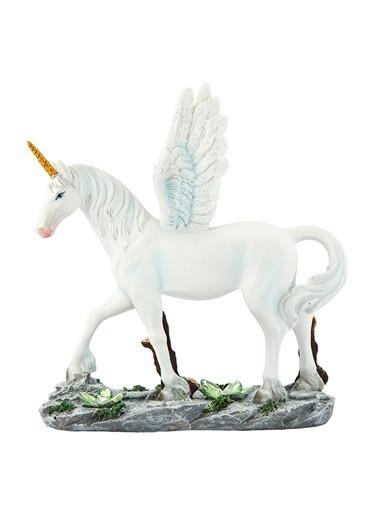 Vitale Kanatlı At Biblo Beyaz
